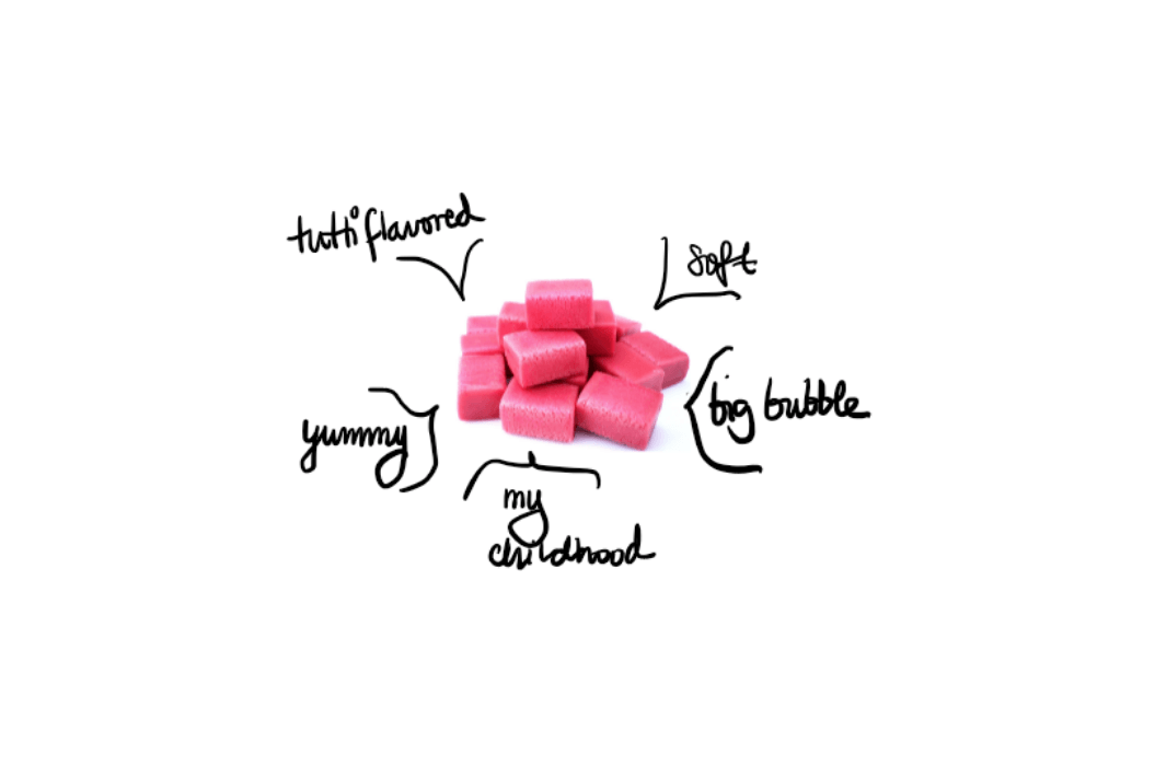 How sensory analysis can help improve the texture of a gum