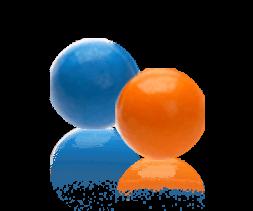Hollow Balls Gum